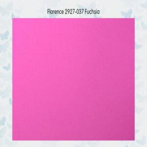 Florence Cardstock Glad 2927-037 Fuchsia A4/10 Vellen/216gr