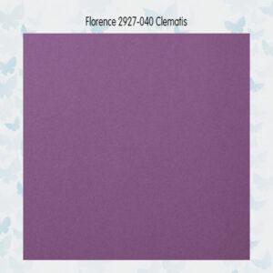Florence Cardstock Glad 2927-040 Clematis A4/10 Vellen/216gr