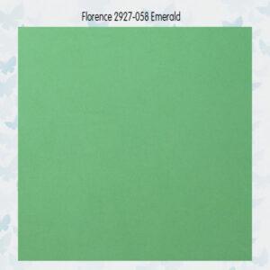 Florence Cardstock Glad 2927-058 Emerald A4/10 Vellen/216gr