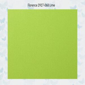 Florence Cardstock Glad 2927-068 Lime A4/10 Vellen/216gr
