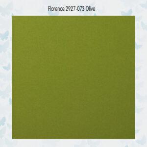 Florence Cardstock Glad 2927-073 Olive A4/10 Vellen/216gr