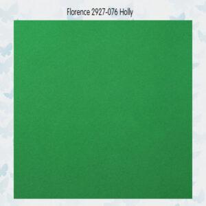Florence Cardstock Glad 2927-076 Holly A4/10 Vellen/216gr