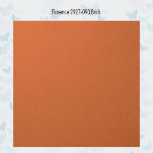 Florence Cardstock Glad 2927-090 Brick A4/10 Vellen/216gr