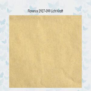 Florence Cardstock Glad 2927-099 Kraft Light A4/10 Vellen/216gr
