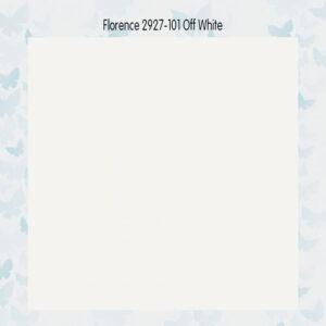 Florence • Cardstock Glad 2927-101 Gebroken Wit