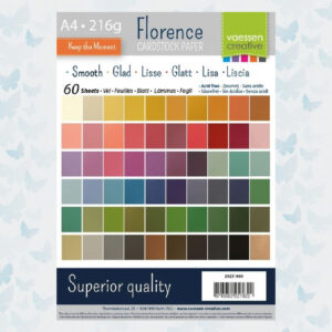 Florence • Cardstock Smooth Multipack A4