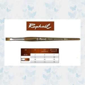 Raphaël Precision Aquarelverf penseel plat 12 / 8534.12