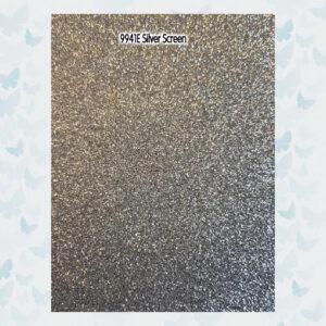 Tonic Studios 5 Vellen Glitter Karton - Silver Screen 9941E /A4/ 250gr