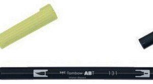 Tombow ABT dubbele brushpen Lemon Lime ABT-131