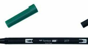 Tombow ABT dubbele brushpen Dark Green ABT-277