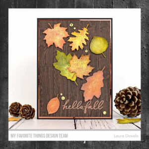 My Favorite Things Wood Plank Rubber Background Stamps (BG-138)
