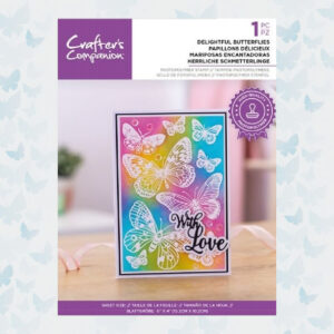 Crafter's Companion Delightful Butterflies Clear Stamps CC-STP-DEBU