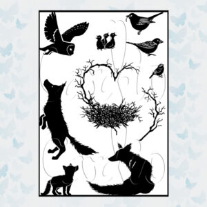 Card-io Clear Stamps New Beginnings CCSTNEW-01