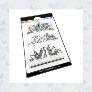 Catherine Pooler Clear Stempels - Classy Trims Stamp Set CPS1087
