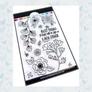Catherine Pooler Clear Stempels - Best Things in Life Floral Set CPS1090