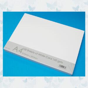 Craft UK White Card A4 (CUK41273) 100 vellen