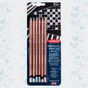 Derwent Pencils Metallic Colours Pastel 6pcs DMP2305602