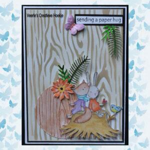 Nellies Choice Clear Stempel - Forest Friends set1 FFECS001
