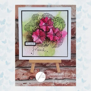 Julie Hickey Clear Stempels Blooming Florals JH-A5-002