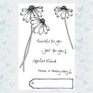 Julie Hickey Clear Stempels Sweet Daisy JH1043