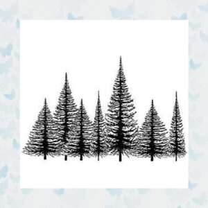 Lavinia Clear Stamp Winter Tree Group LAV021