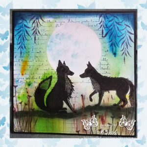 Lavinia Clear Stamp Willow LAV173