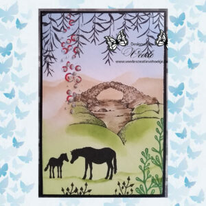 Lavinia Clear Stamp Fairy Bridge LAV177