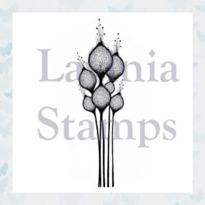Lavinia Clear Stamp Fairy Thistles LAV378
