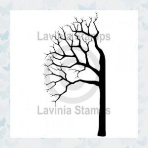Lavinia Clear Stamp Tree Half Links LAV454