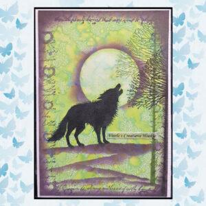 Lavinia Clear Stamp Celestial Tree LAV474