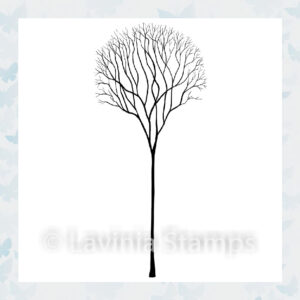 Lavinia Clear Stamp Single Skeleton Tree LAV532
