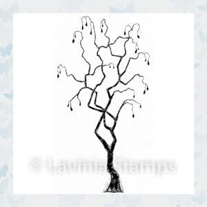 Lavinia Clear Stamp Tree of Faith LAV546