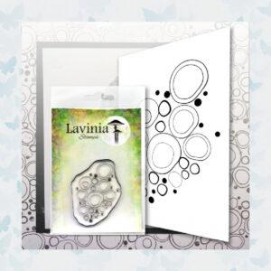 Lavinia Clear Stamp Blue Orbs LAV583