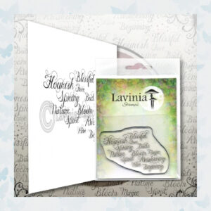 Lavinia Clear Stamp Words of Spring LAV593