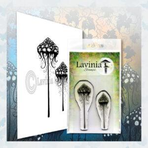 Lavinia Clear Stamp Mushroom Lantern Set LAV596