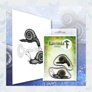 Lavinia Clear Stamp Snail Set LAV607