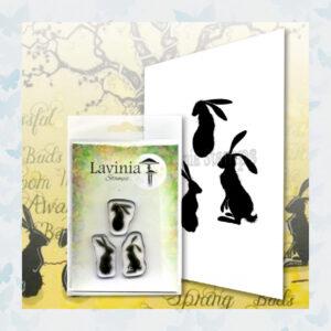 Lavinia Clear Stamp Mini Wild Hares set LAV614