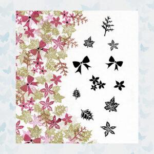 Majestix Clear Stamps Bijou Blooms