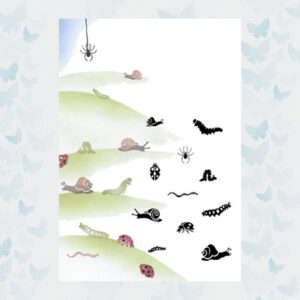 Majestix Clear Stamps Bugs and Snails