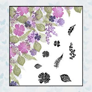 Majestix Clear Stamps Dogwood Daydreams MADO-02