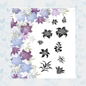 Majestix Clear Stempels Frilly Lily MAFR-02