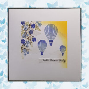 Majestix Clear Stempels Oriental Blossom MAOR-01