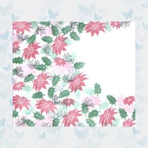 Majestix Clear Stamps Pretty Poinsettias MAPR-01