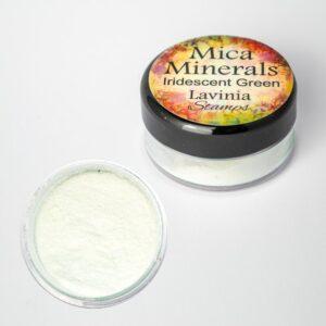 Lavinia Stamps Mica Minerals - Iridescent Green