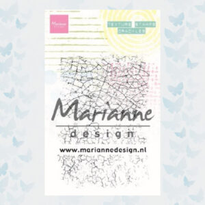 Marianne Design Clear Stamps Texture Stamps - Crackles MM1628