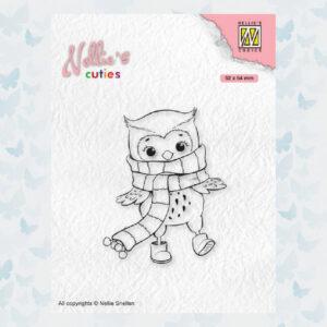 Nellies Choice Clear Stempel - Chris. Cuties - Uil NCCS013