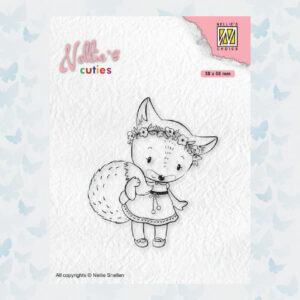 Nellies Choice Clear Stempel - Chris. Cuties - Vos NCCS014