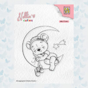 Nellies Choice Clear Stempel - Chris. Cuties - Beer NCCS016