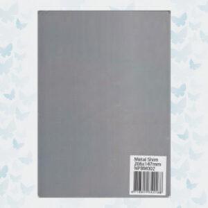 Nellie's Choice A5 Metal Shim NPBM002 voor de PressBoy