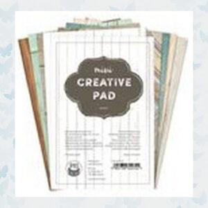 Piatek13 - A6 Creative Pad Wood Design P13-MIS-07